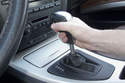 Remove shift knob by pulling straight up and off shift lever.