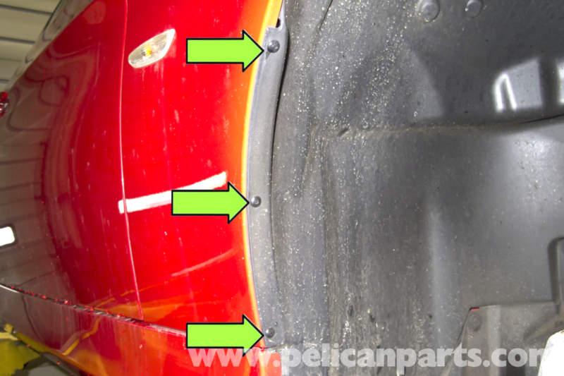 Wheel Well Liner >> BMW E90 Wheel Well Liner Removal | E91, E92, E93 | Pelican Parts DIY Maintenance Article