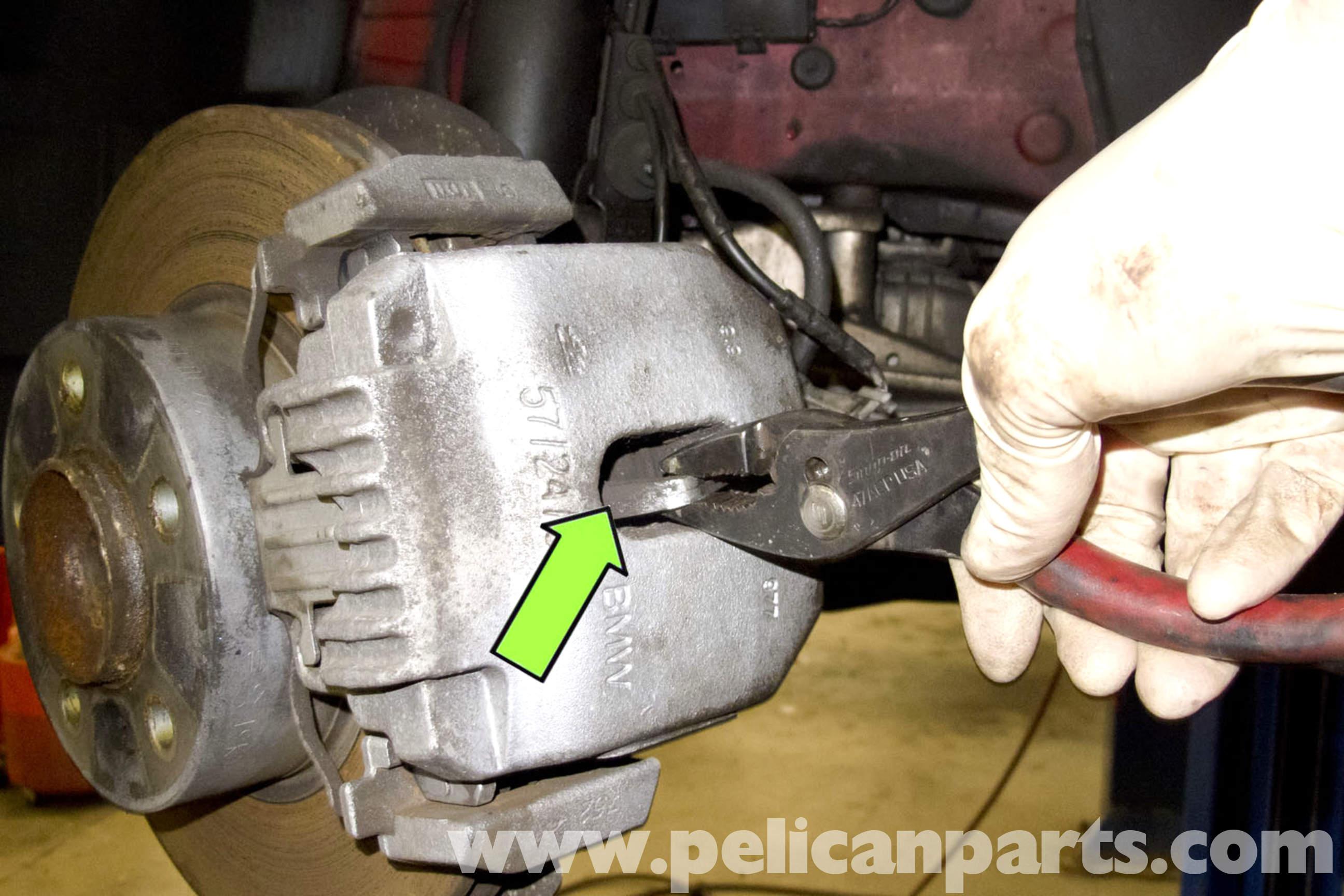 BMW E90 Brake Caliper Replacement  E91 E92 E93  Pelican Parts