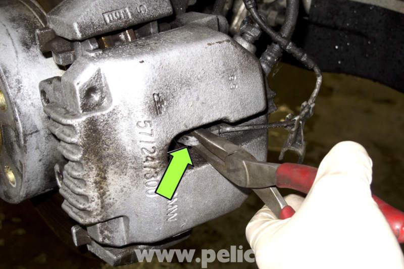 Bmw E90 Brake Pad Replacement E91 E92 E93 Pelican