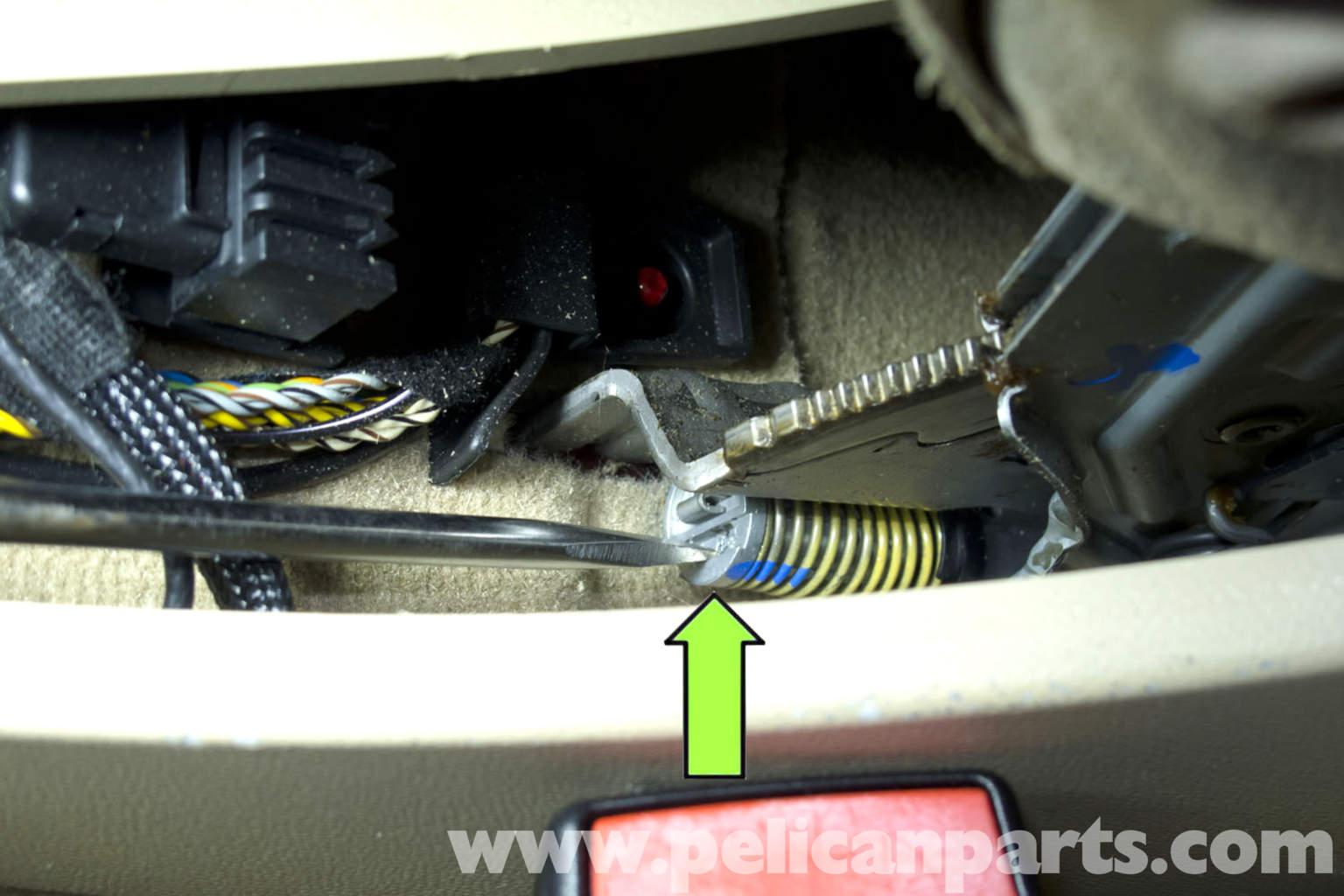 Bmw E90 Parking Brake Adjustment E91 E92 E93 Pelican