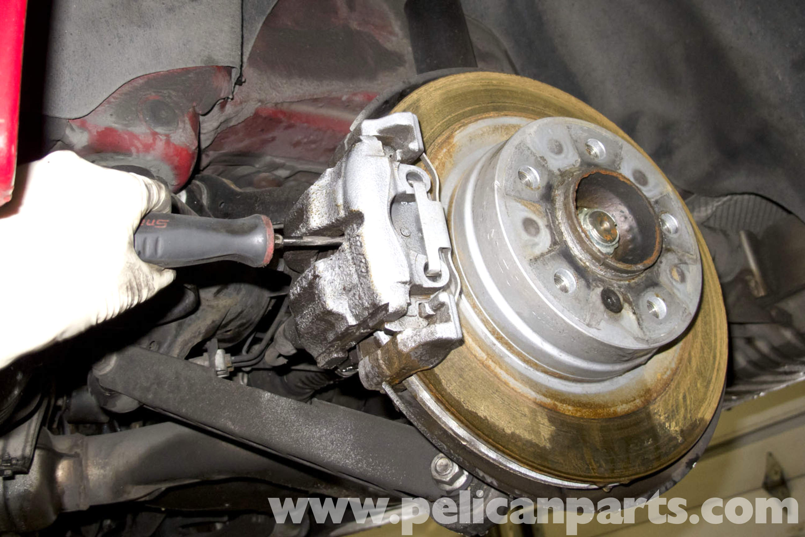 BMW E90 Parking Brake Shoes Replacement | E91, E92, E93 | Pelican