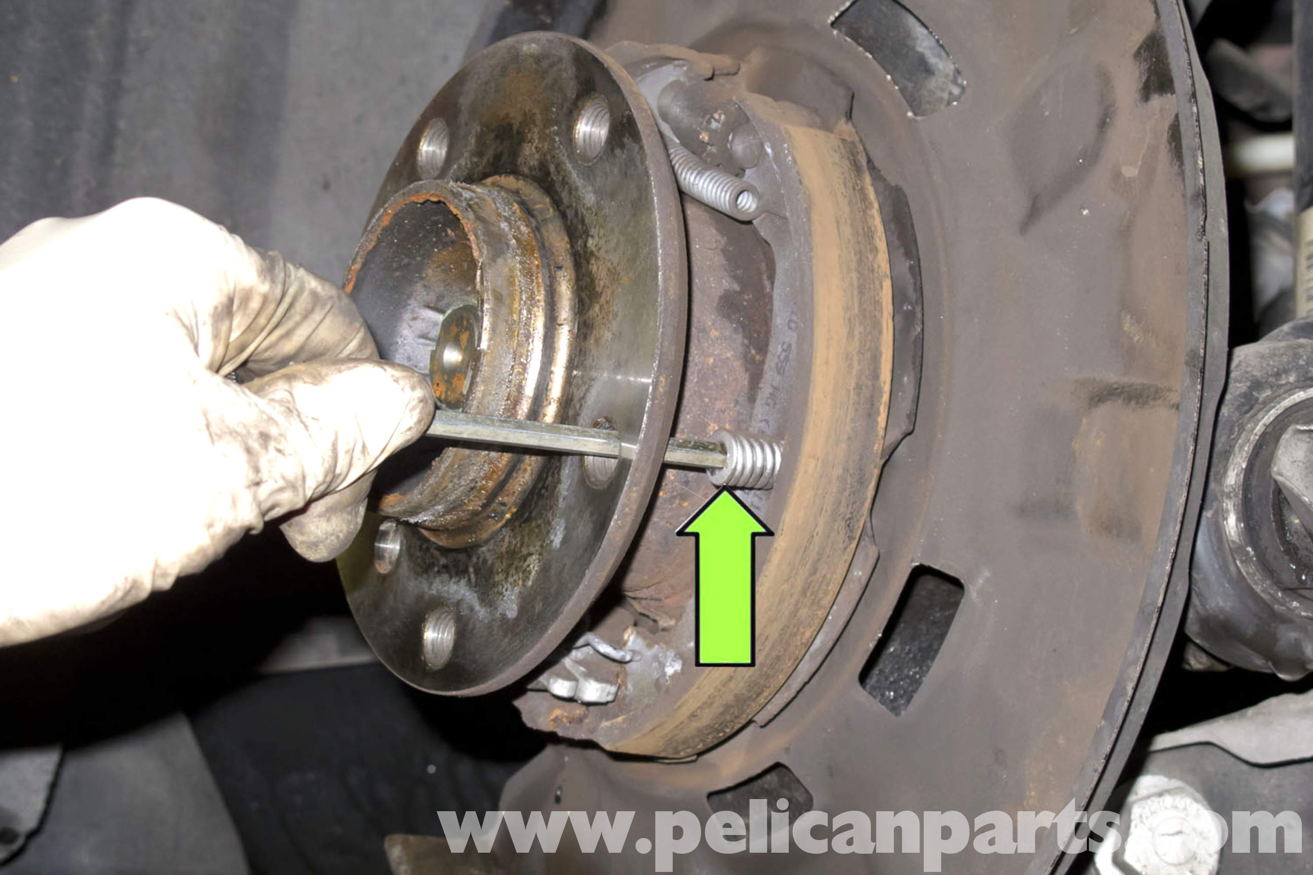 Bmw E90 Parking Brake Shoes Replacement E91 E92 E93