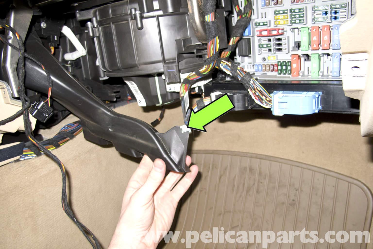 Bmw E90 Fuse Box Problem Wiring Diagrams Blower Motor Replacement E91 E92 E93 Pelican Parts Diy Instrument Cluster