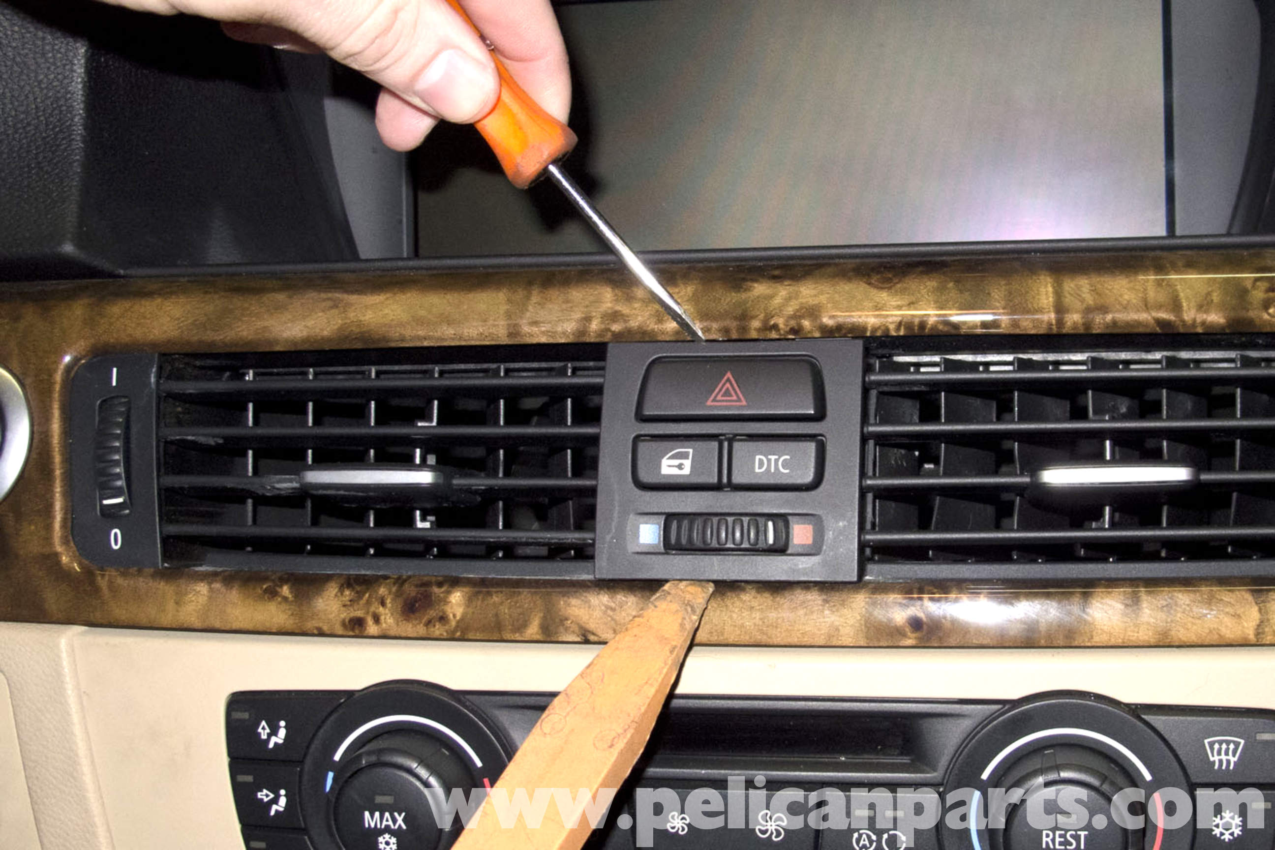 Bmw E90 Radio Ihka Panel Replacement