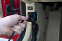 Plug your scan tool into the OBD II connector.