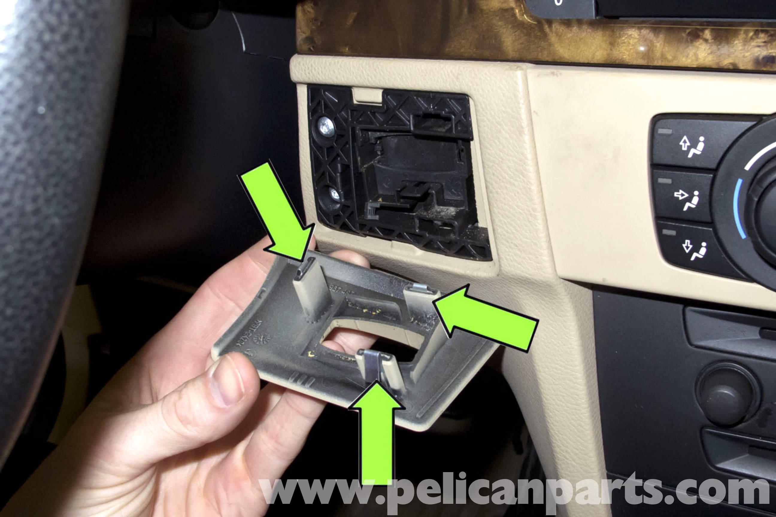 Bmw E90 Remote Key Slot Replacement E91 E92 E93 Pelican Parts