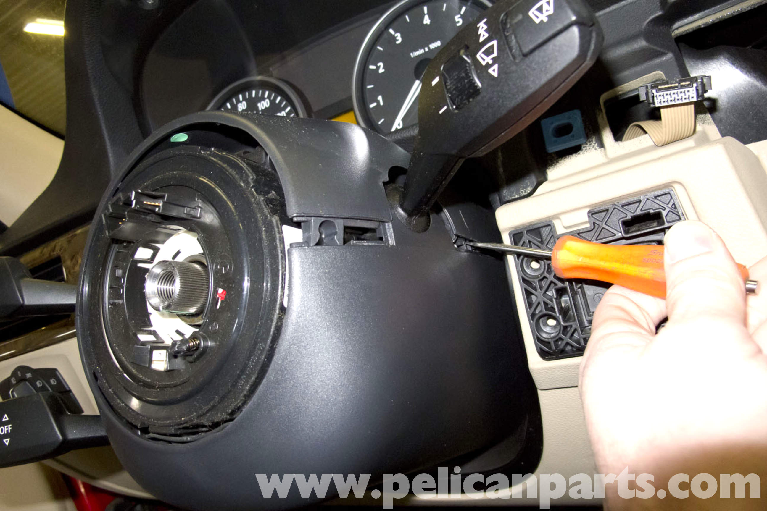 how to change head light sensors in 2006 mercedes ml500