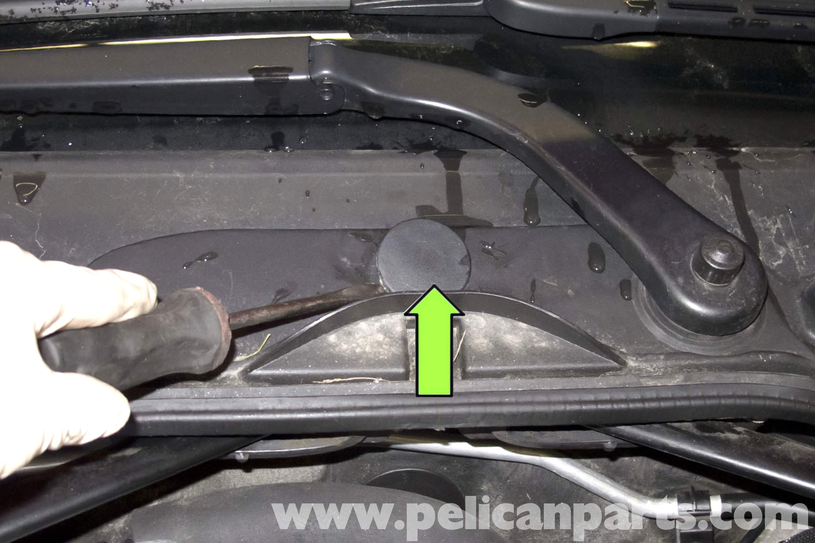 Bmw E90 Wiper Motor Blade And Arm Replacement E91 E92 E93 Windshield Wiring Diagram Large Image Extra