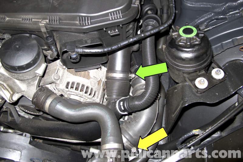 BMW E90 Alternator Replacement | E91, E92, E93 | Pelican Parts DIY
