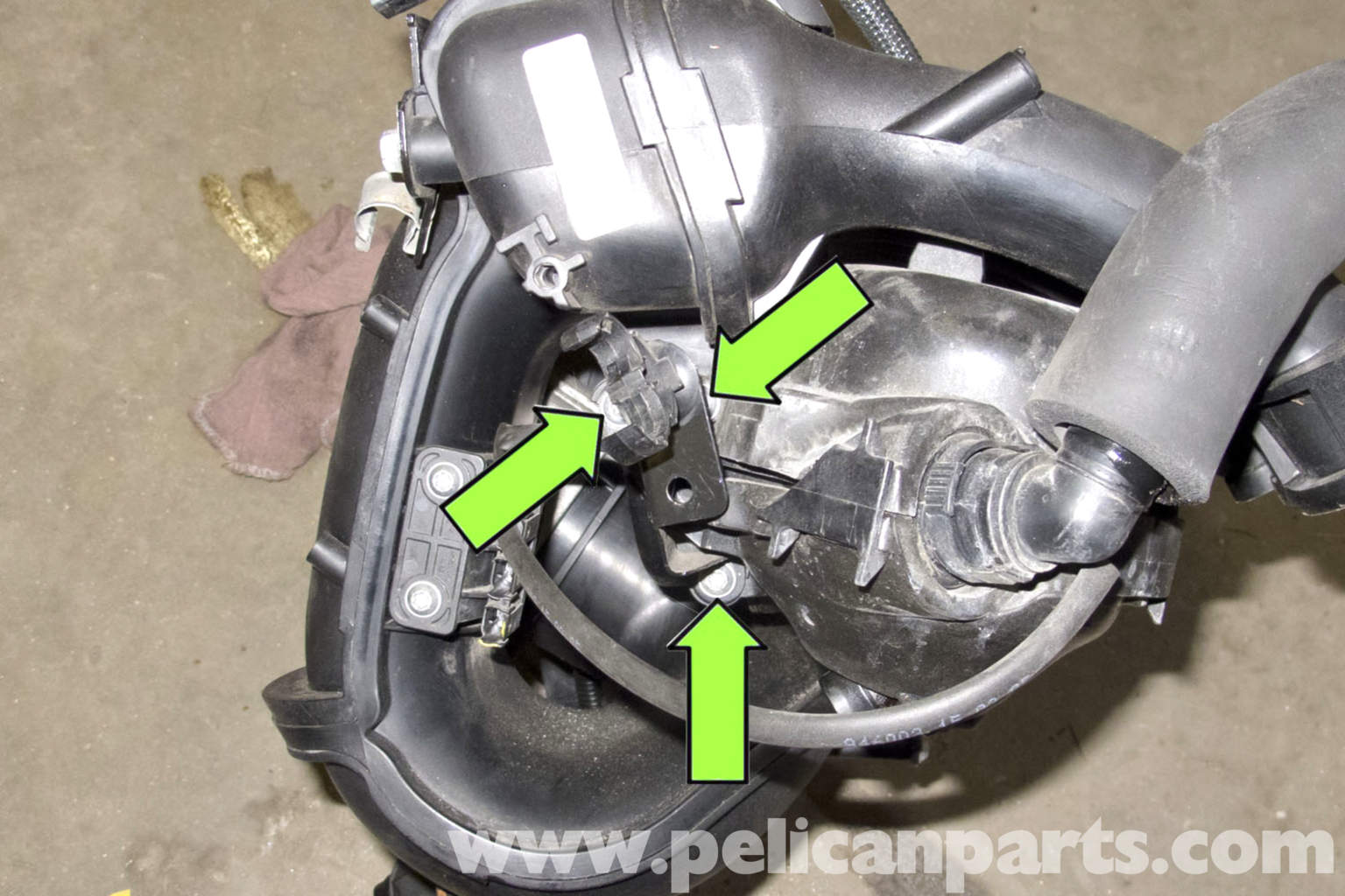 BMW E90 Crankcase Breather Valve Replacement | E91, E92, E93 | Pelican Parts DIY Maintenance Article