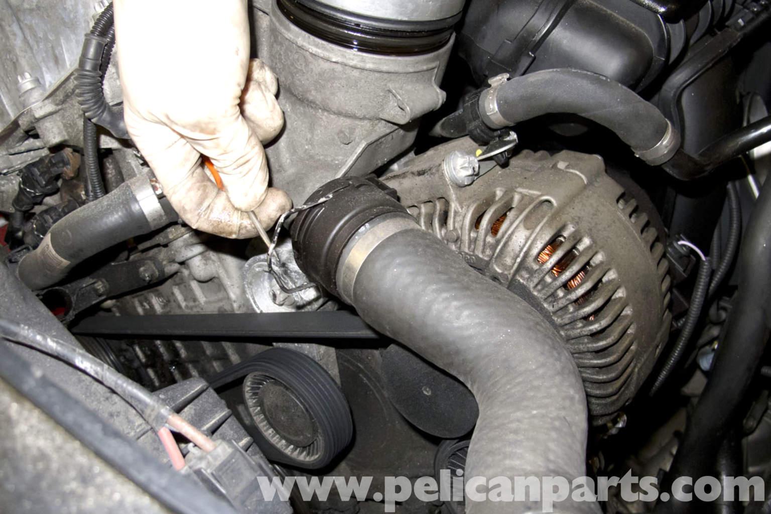 BMW E90 Oil Filter Housing Gasket Replacement | E91, E92, E93 | Pelican Parts DIY Maintenance ...