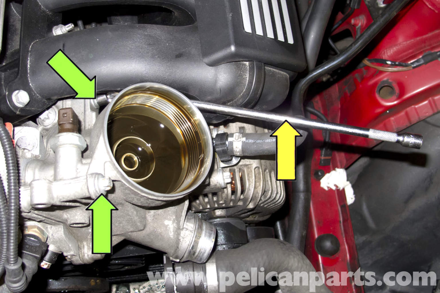 how to change oil filter on 2010 scion xd