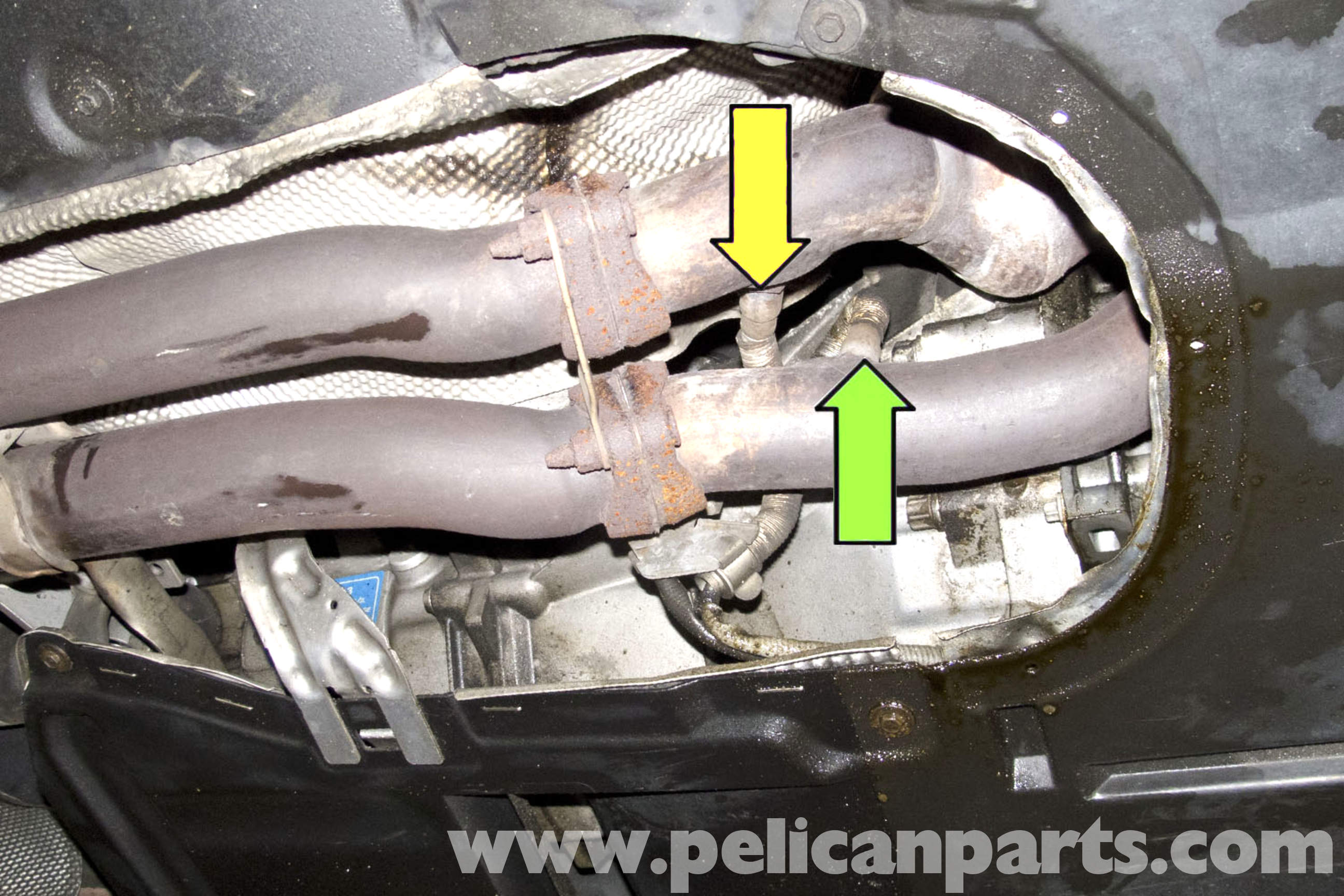 pic02 bmw e90 oxygen sensor replacement e91, e92, e93 pelican parts  at bakdesigns.co