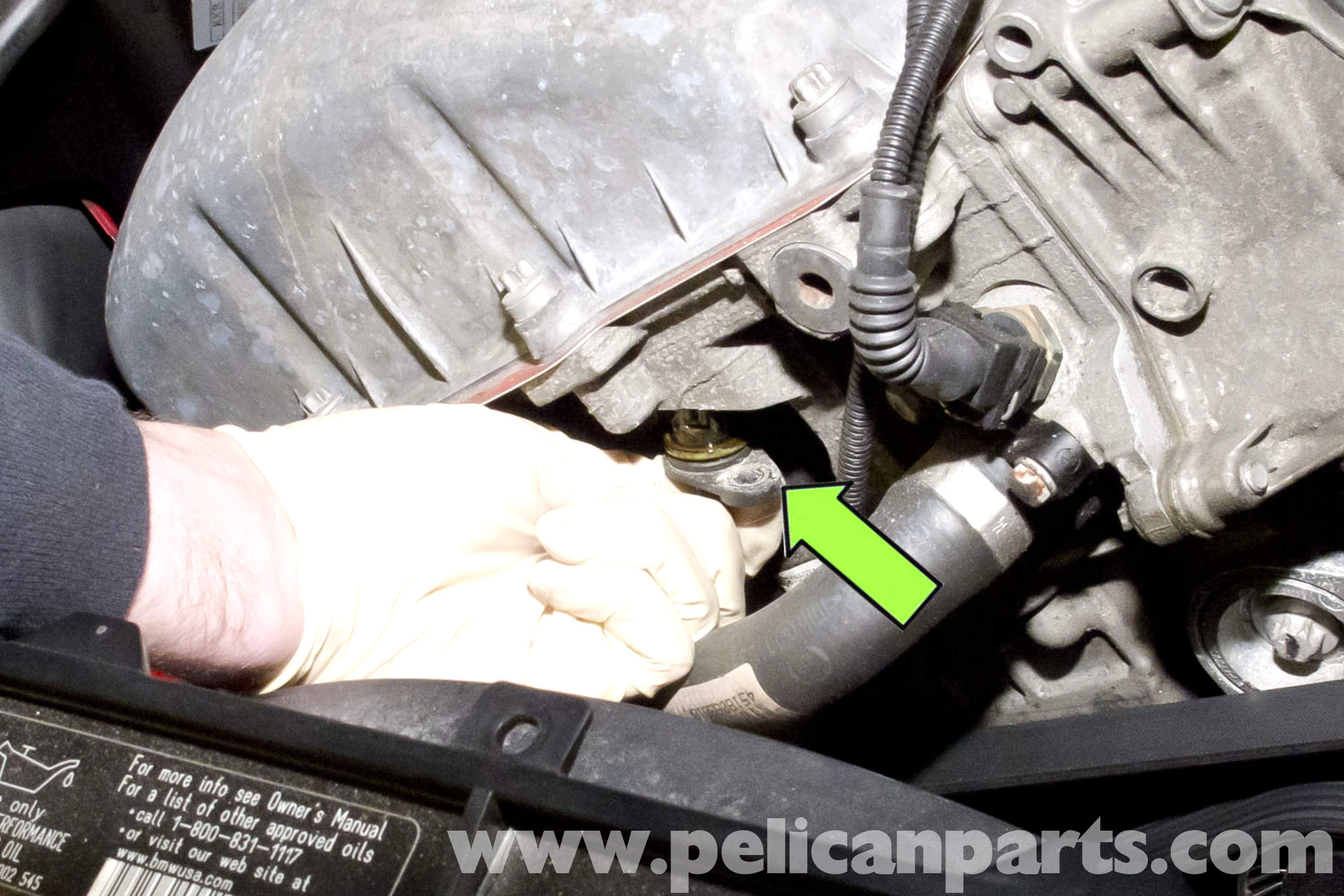 bmw e90 camshaft position sensor replacement