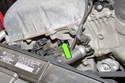 Remove camshaft position sensor E8 fastener.