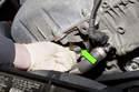 Pull camshaft position sensor out of cylinder head.