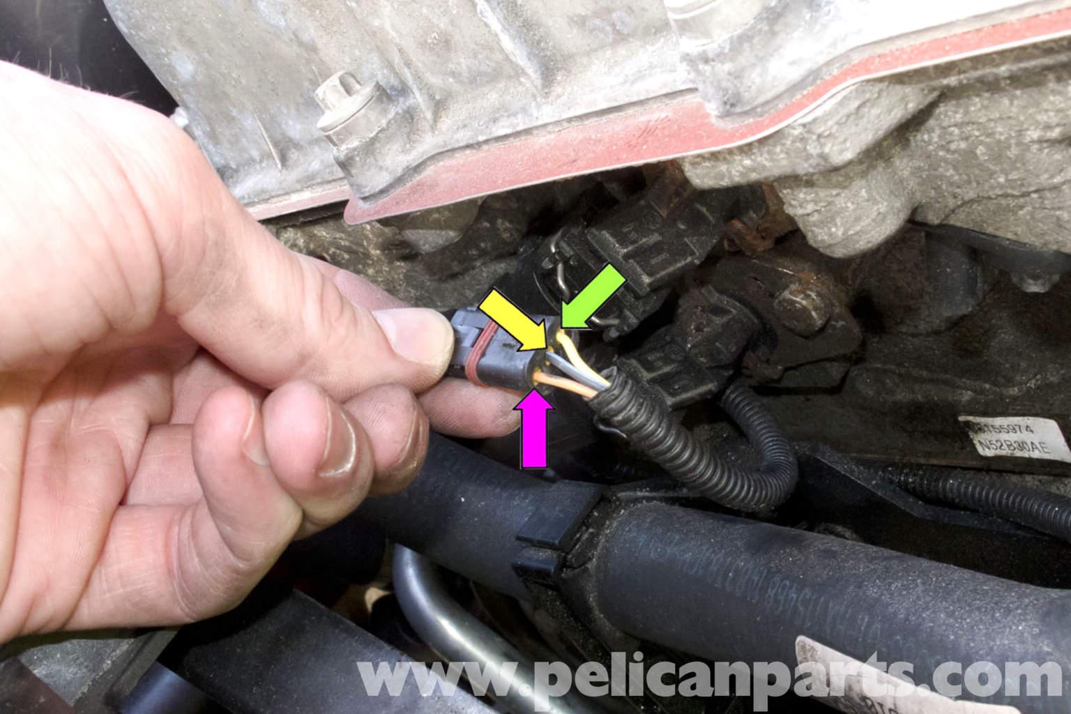 Sensor Wiring Diagram Pin Connector Is Pin 1 Yellow Pin 2 Red Pin 3