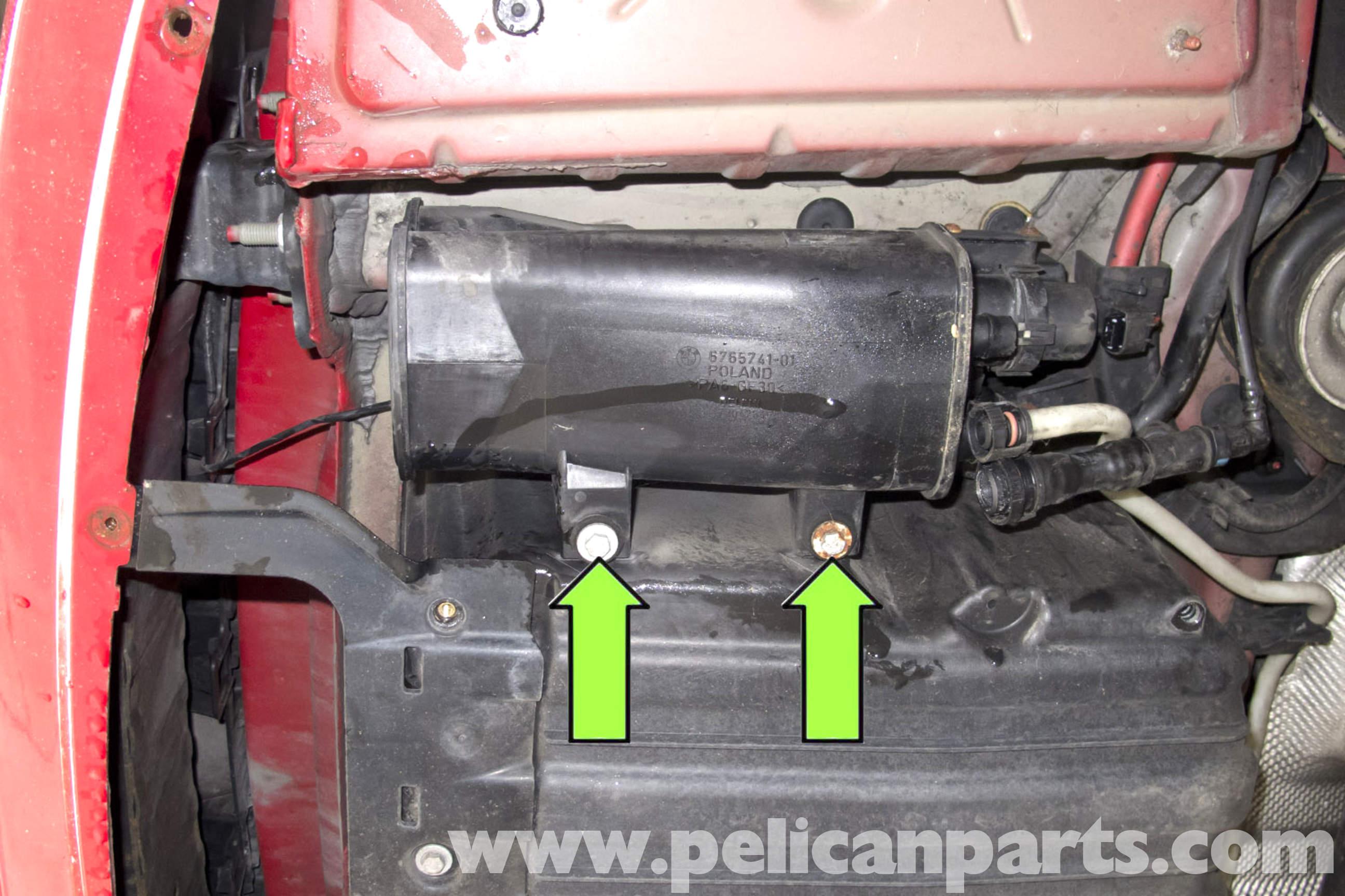 BMW E90 Charcoal Canister Replacement  E91 E92 E93  Pelican