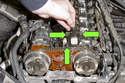 Once all fasteners are loose, remove sensor from engine.