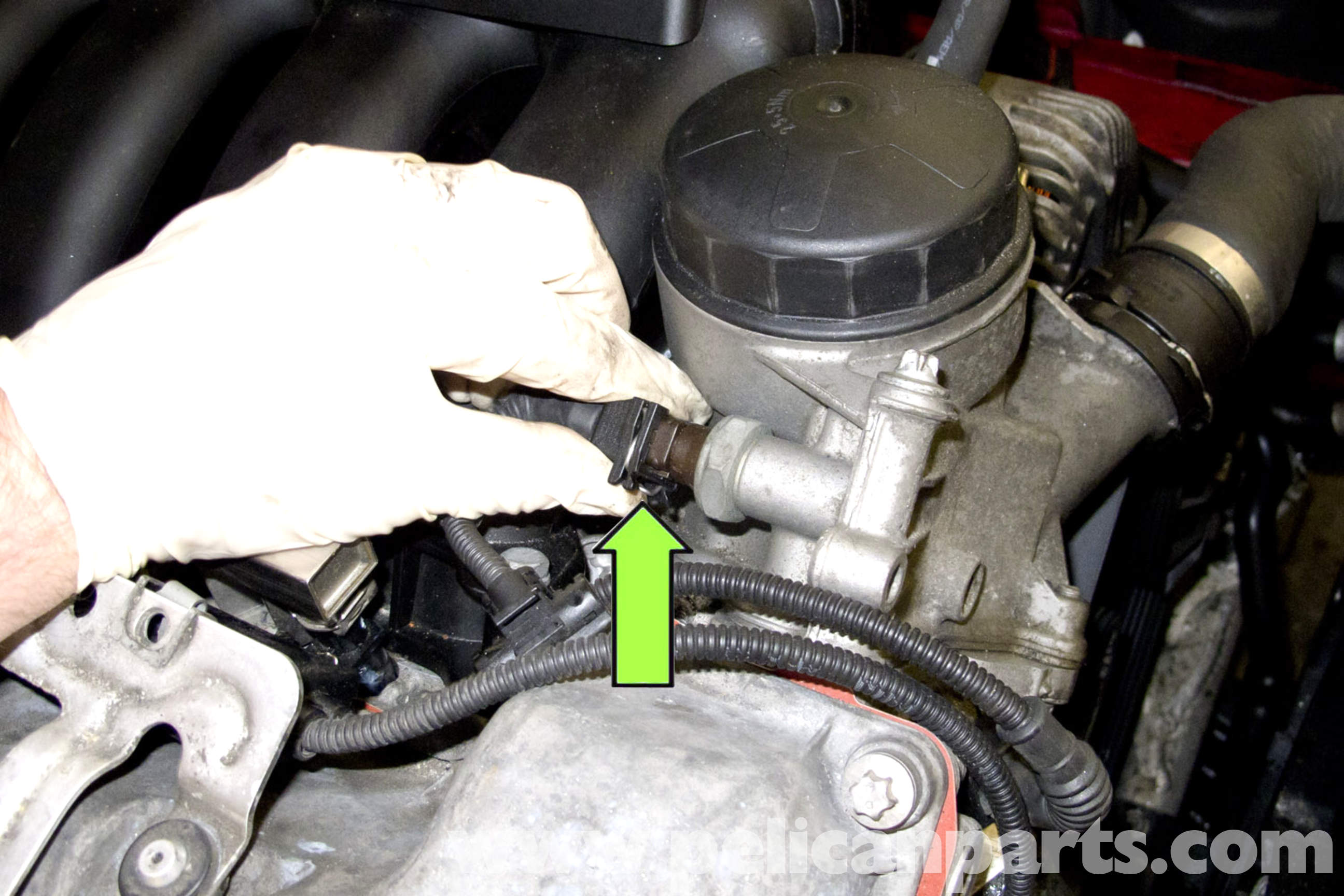 BMW E90 Engine Temperature Sensor Replacement | E91, E92