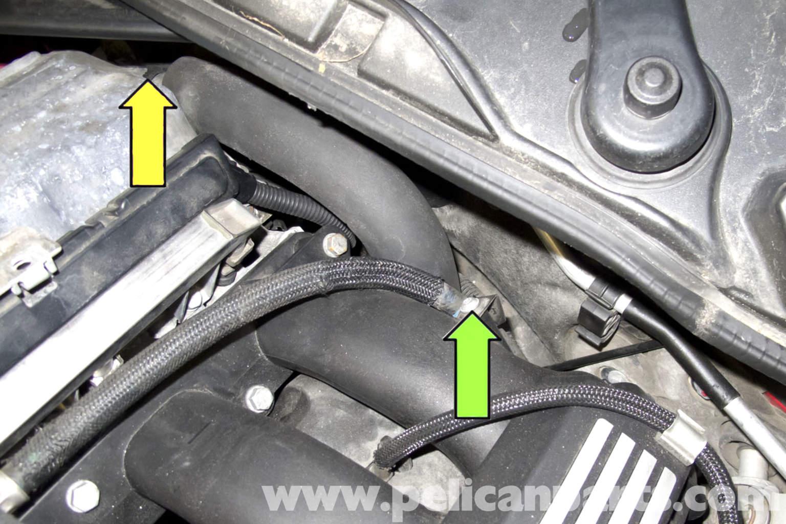 bmw e90 intake manifold replacement e91  e92  e93