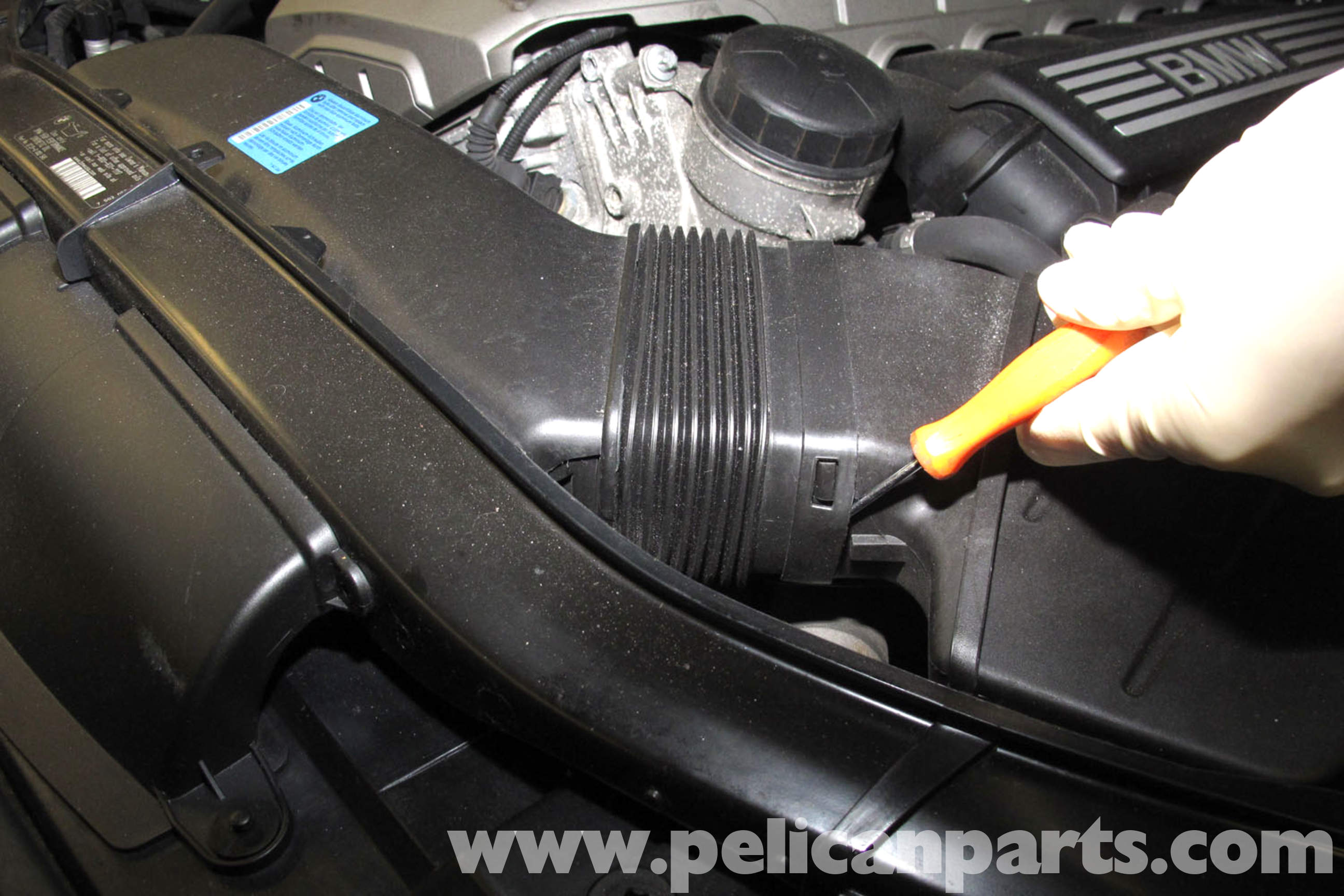 BMW E90 Knock Sensor Replacement | E91, E92, E93 | Pelican Parts DIY ...