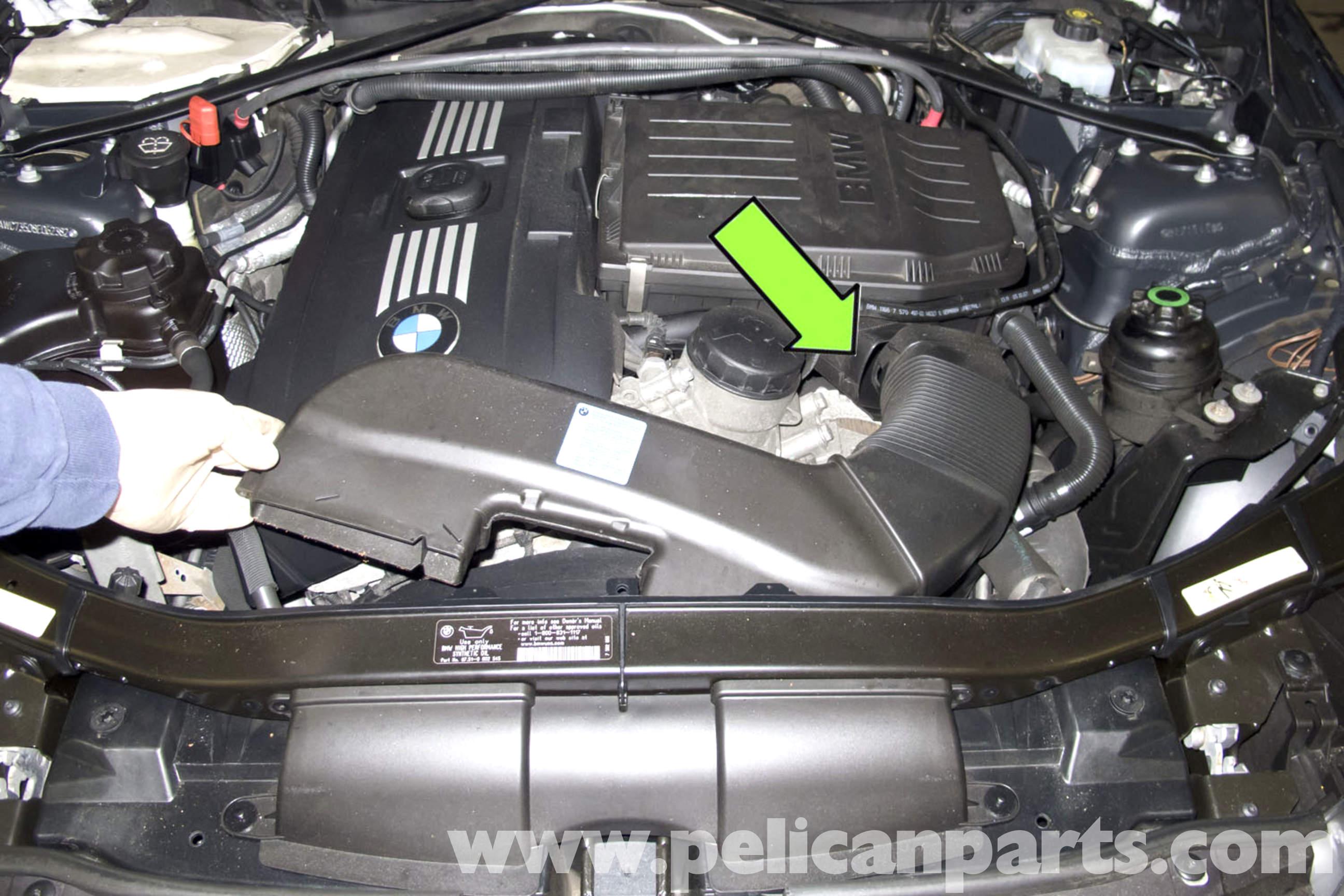 BMW E90 Knock Sensor Replacement   E91, E92, E93   Pelican