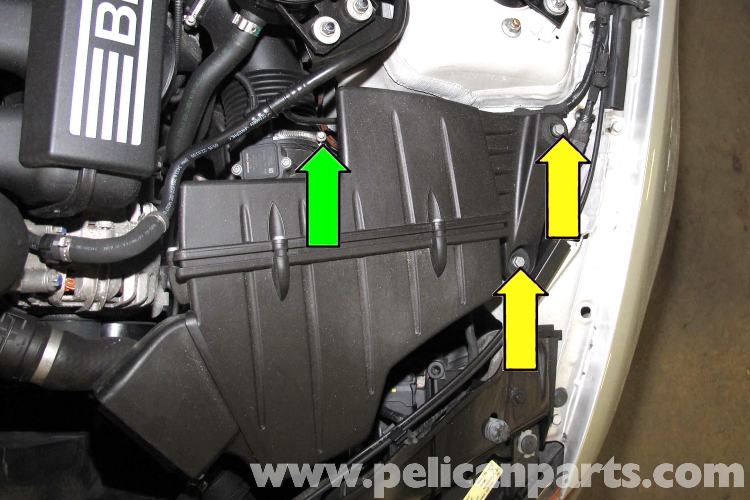 Bmw E90 Throttle Body Replacement E91 E92 E93 Pelican Parts E30 Wiring Harness Removal Large Image Extra