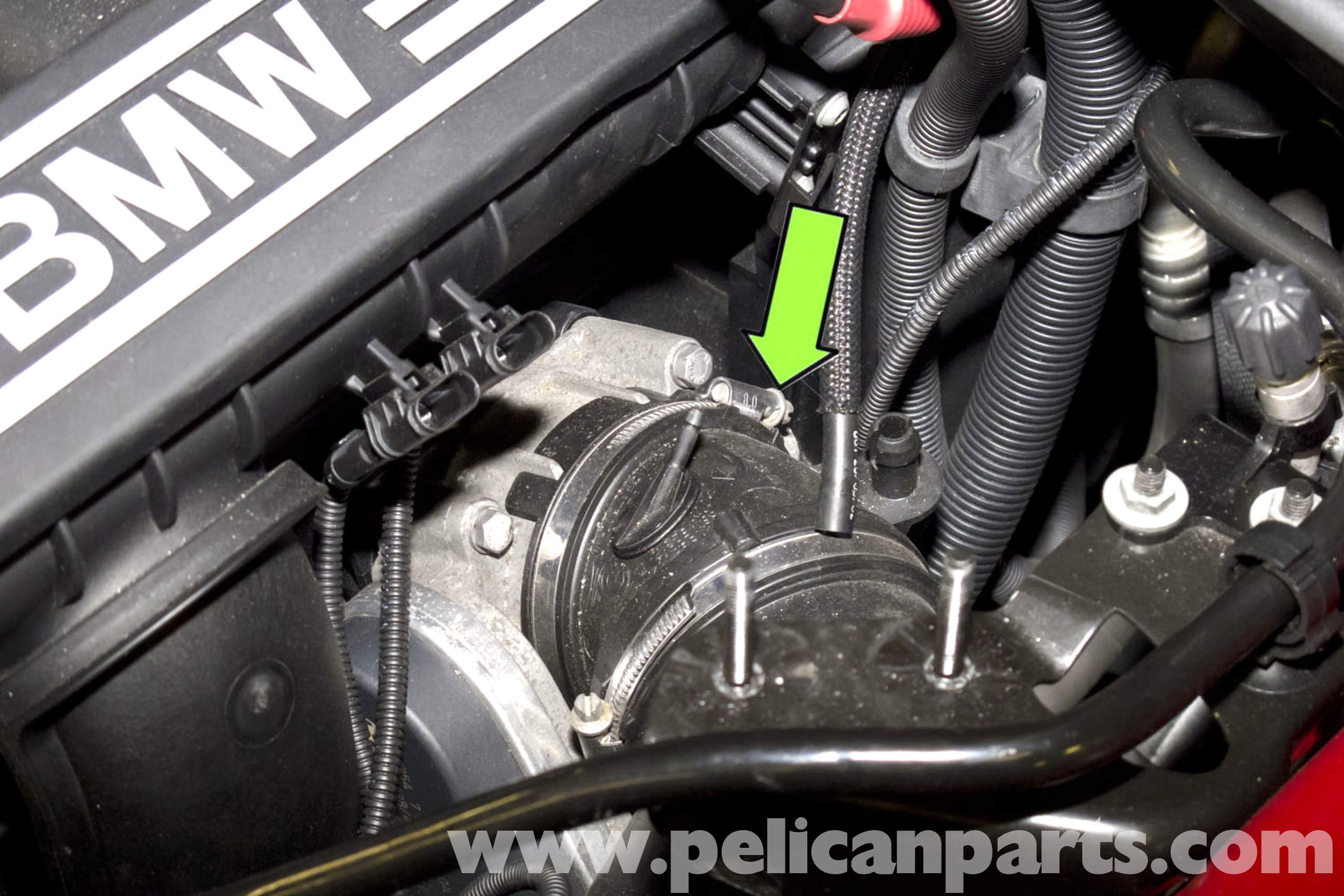 BMW E90 Throttle Body Replacement | E91, E92, E93 | Pelican Parts