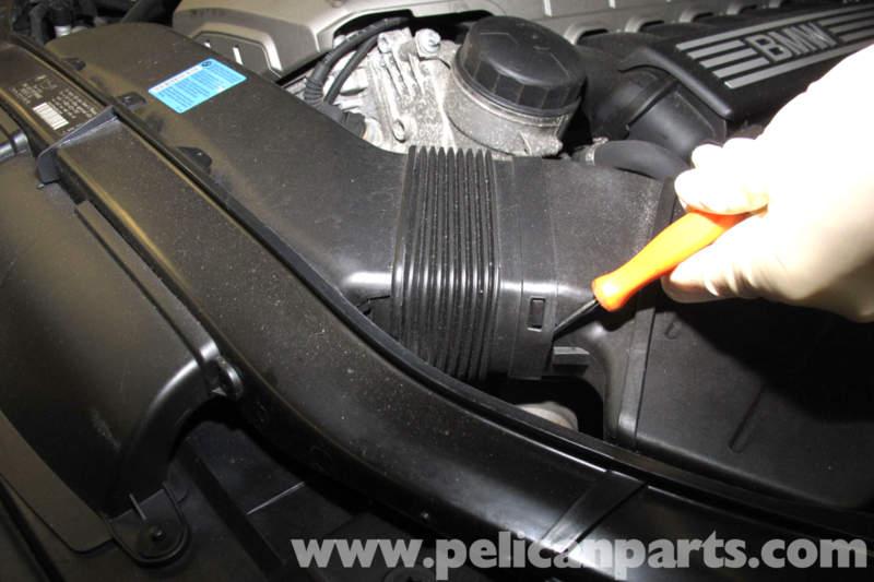 Bmw E90 Throttle Body Replacement E91 E92 E93 Pelican Parts Rhpelicanparts: 2007 Bmw 335i M Air Flow Sensor Location At Taesk.com