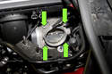Remove four 10mm throttle body fasteners.
