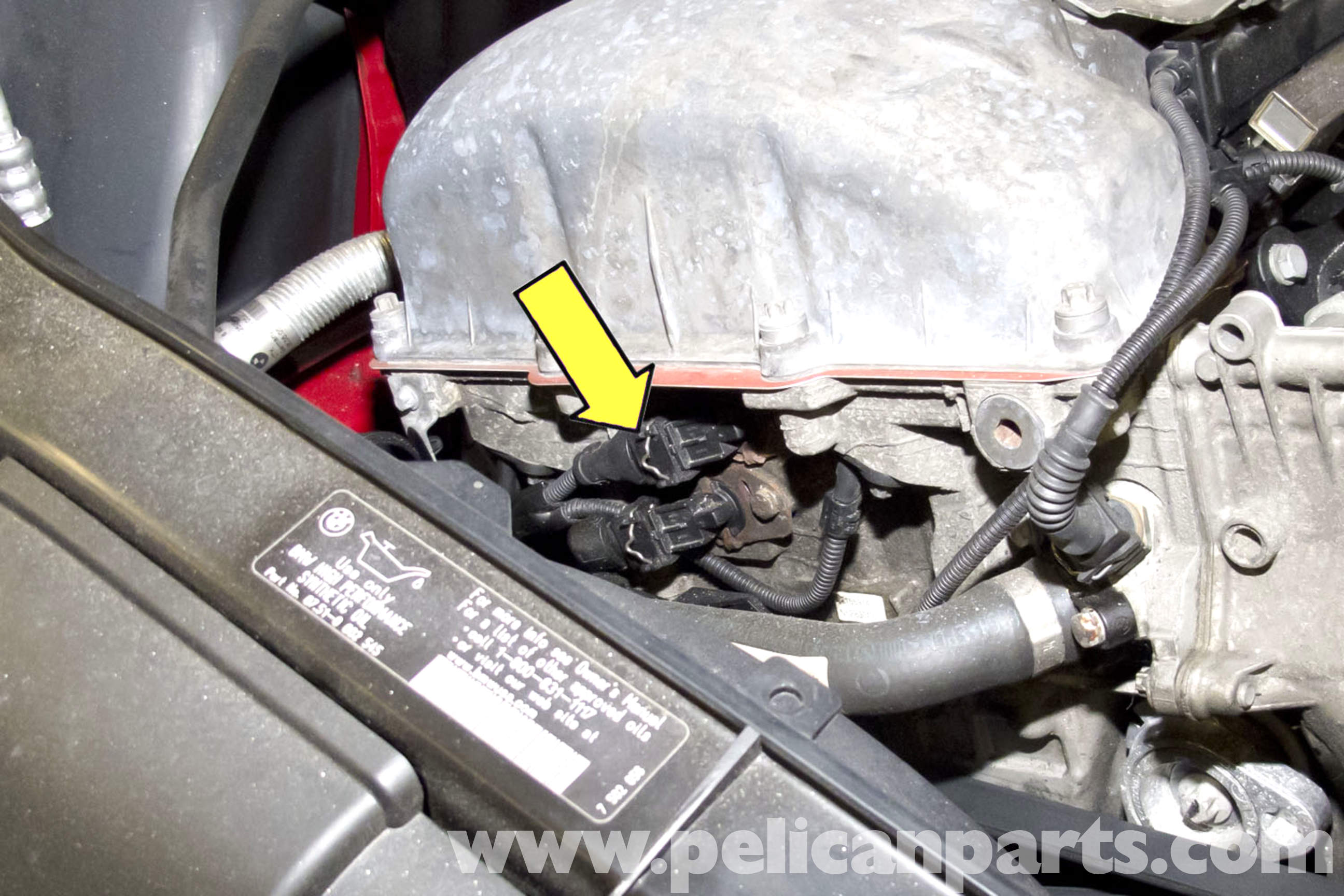 Bmw E90 Vanos Solenoid Replacement E91 E92 E93 Pelican Parts Diy Maintenance Article