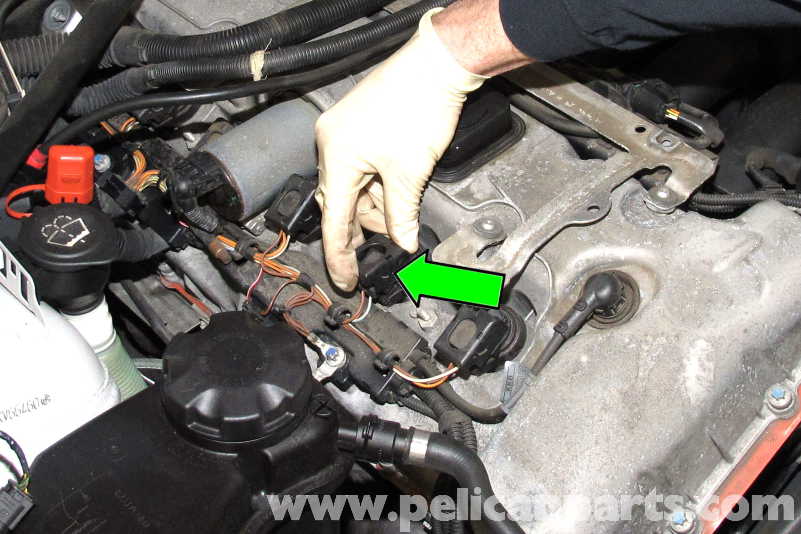 pic05 bmw e90 valvetronic motor replacement e91, e92, e93 pelican BMW E46 Wiring Diagrams at bakdesigns.co