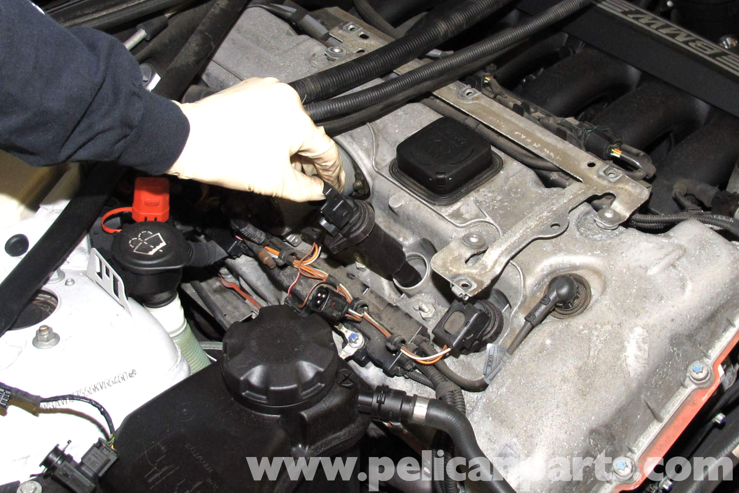 pic08 bmw e90 valvetronic motor replacement e91, e92, e93 pelican  at soozxer.org