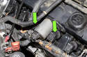 Then remove the two ignition coils closest to the Valvetronic motor.