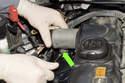 Remove lower E8 Valvetronic motor fastener.