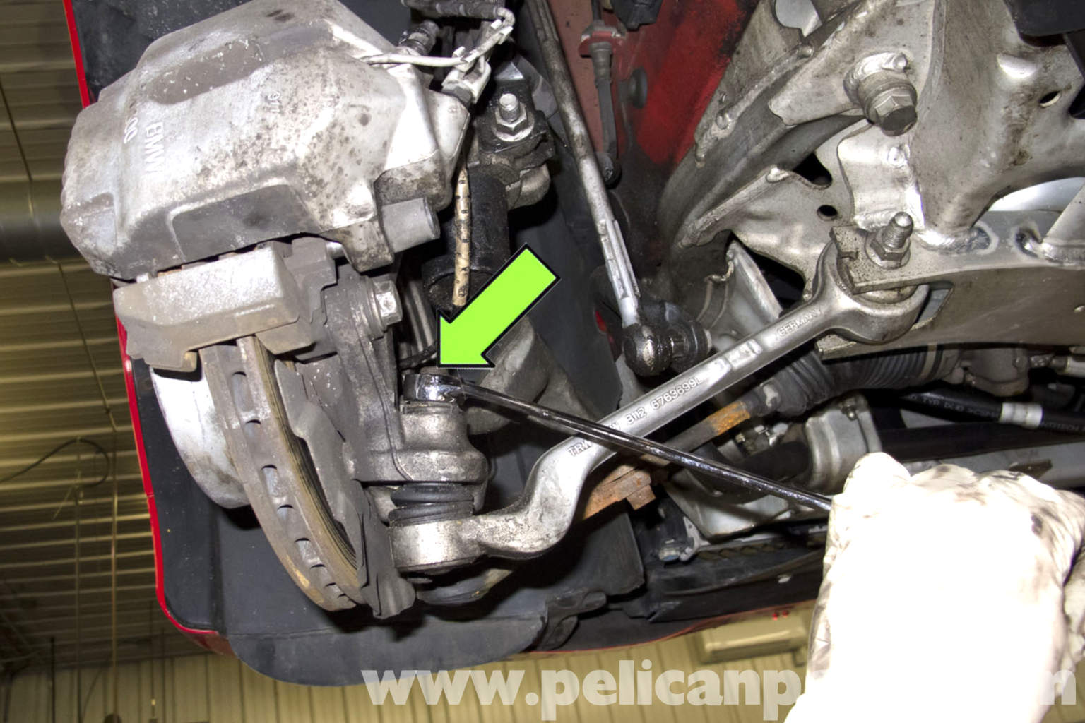 Bmw E90 Front Control Arm Replacement