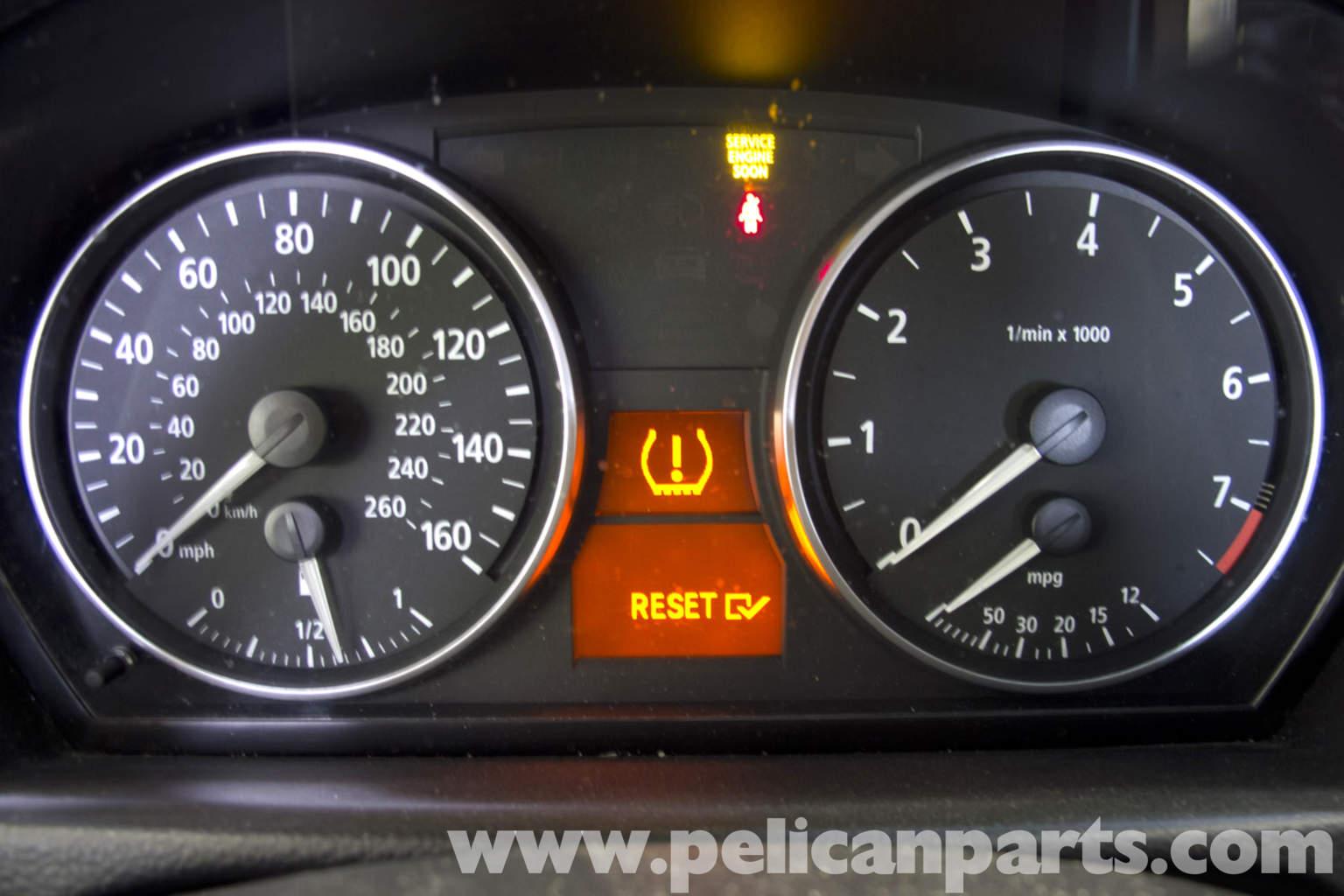 Bmw E90 Tire Pressure Warning Light Reset E91 E92 E93