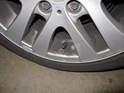 A rubber, flexible valve stem utilizes wheel speed.