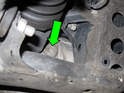 To check your front differential fluid.