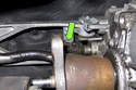 Next, remove the shift rod clip.