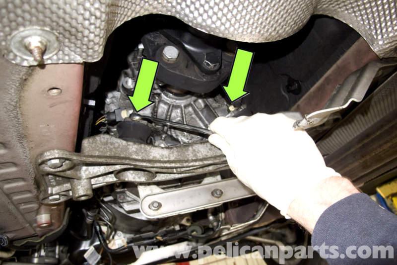 Bmw E90 Transmission Mount Replacement E91 E92 E93 Pelican Parts Diy Maintenance Article