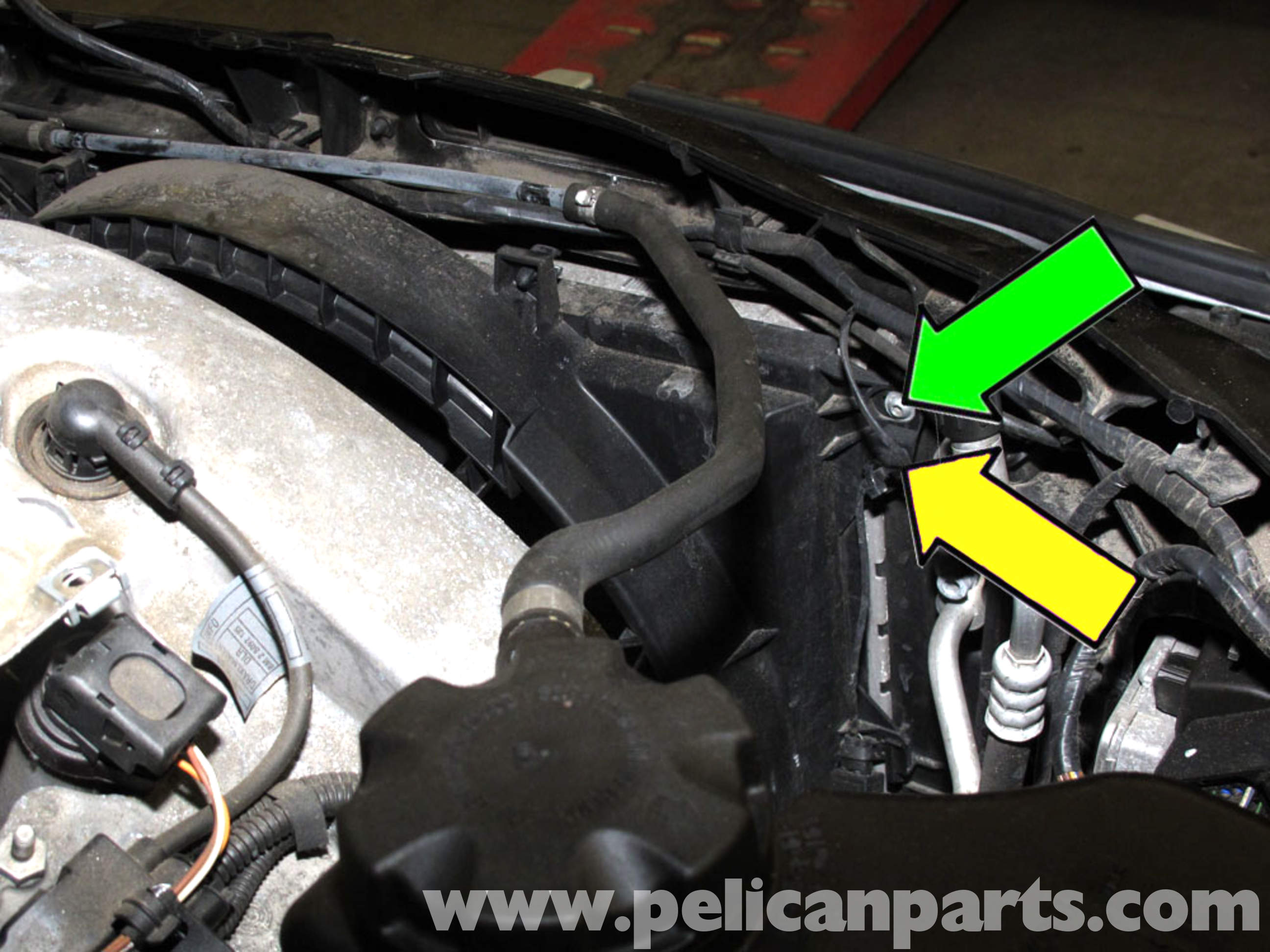 Bmw E90 Cooling Fan Replacement