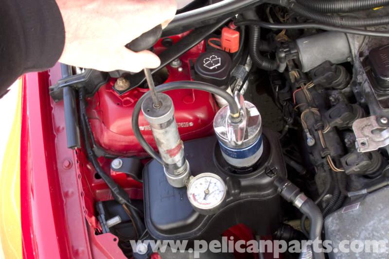 Bmw E90 Cooling System Leak Test E91 E92 E93 Pelican
