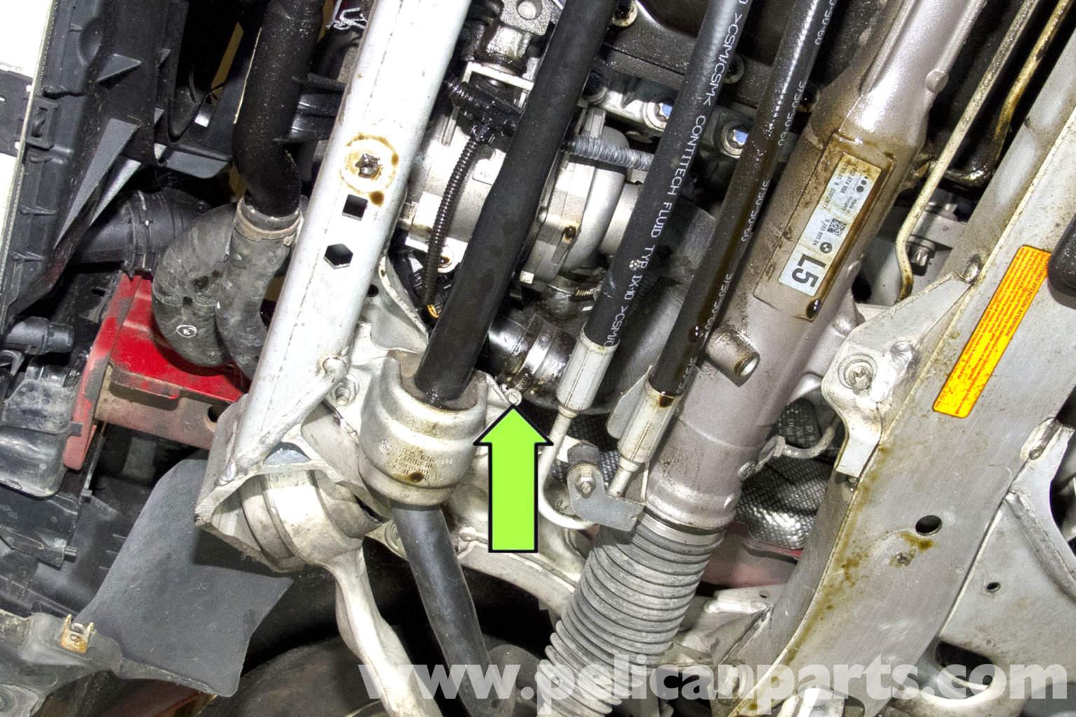 BMW E90 Coolant Flush E91 E92 E93 Pelican Parts DIY Maintenance  #ABB516