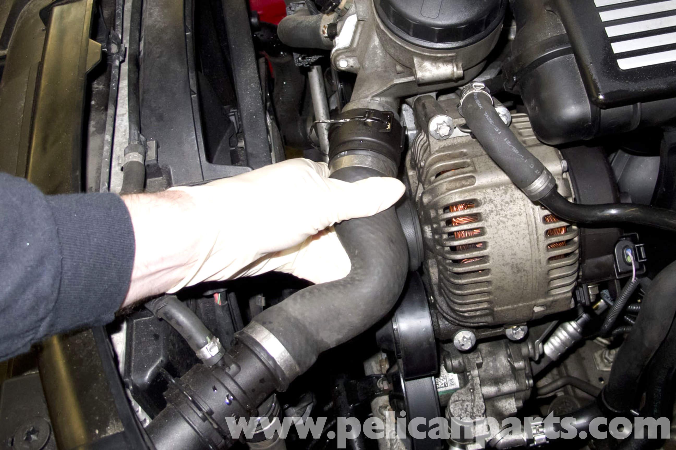Bmw e90 upper radiator hose replacement