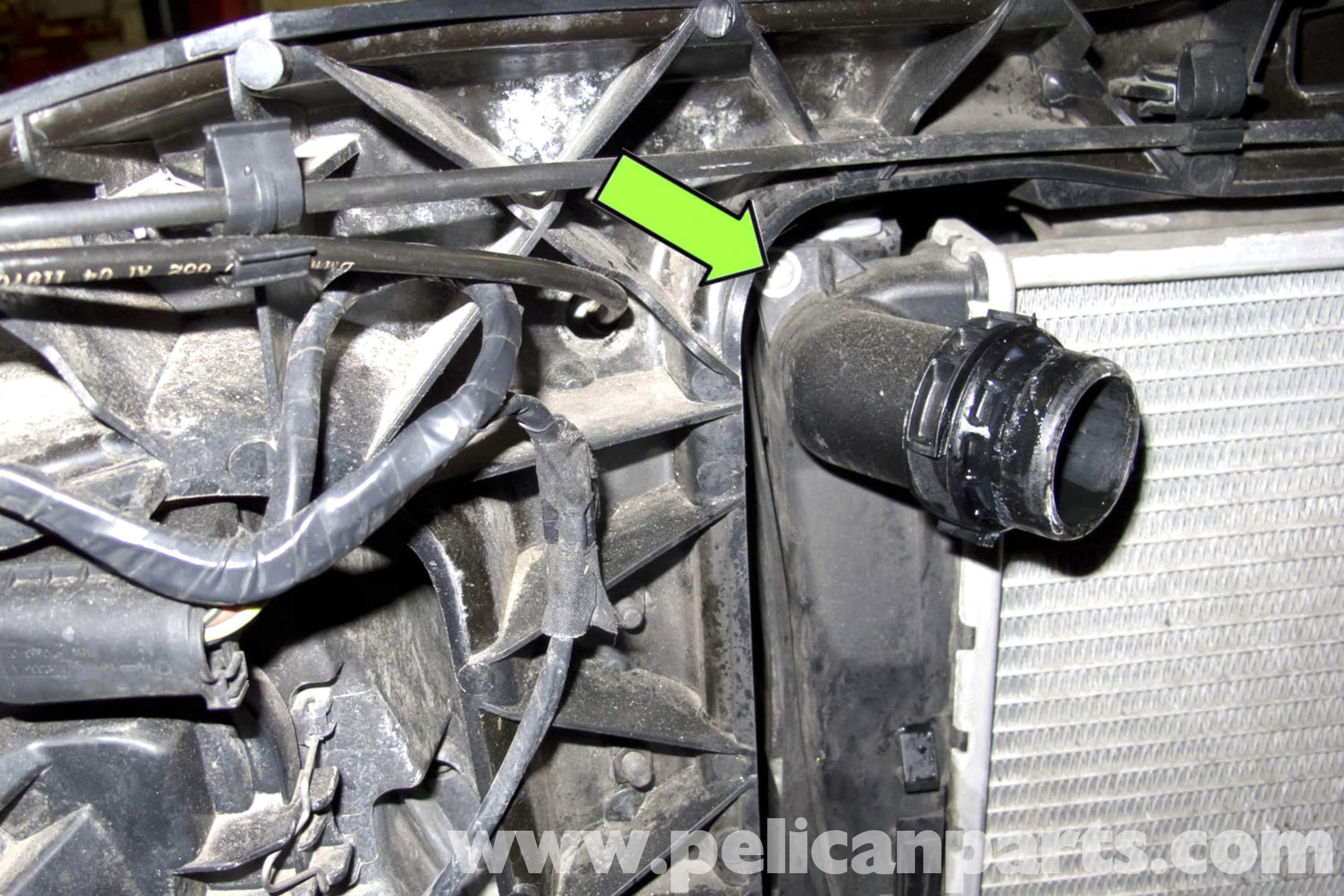 Bmw E90 Radiator Replacement E91 E92 E93 Pelican