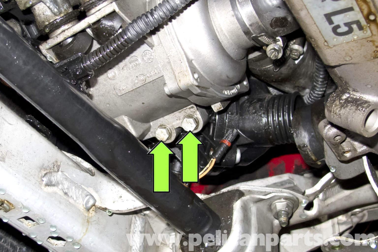 Bmw E90 Thermostat Replacement E91 E92 E93 Pelican