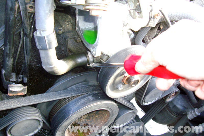 e39 528i water pump replacement